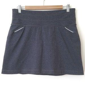Athleta Activewear Skirt/Short Gray MT
